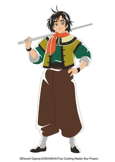 """动画《厨神小当家》第二季2021年播出 主视觉图公开 """"五虎星""""登场!"""